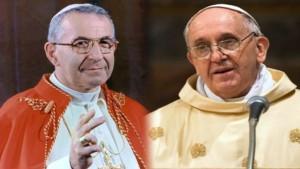 Papa Luciani e Papa Bergoglio